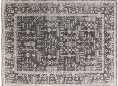 Persian Ziegler Hand Knotted Wool Area Rug