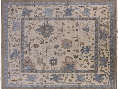 Traditional Oushak Area Rug