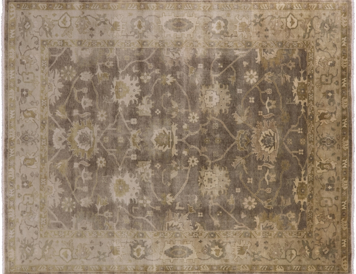 Oushak Oriental Hand Knotted Area Rug