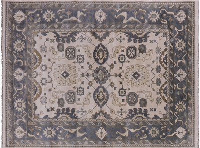 Oushak Hand Knotted Rug