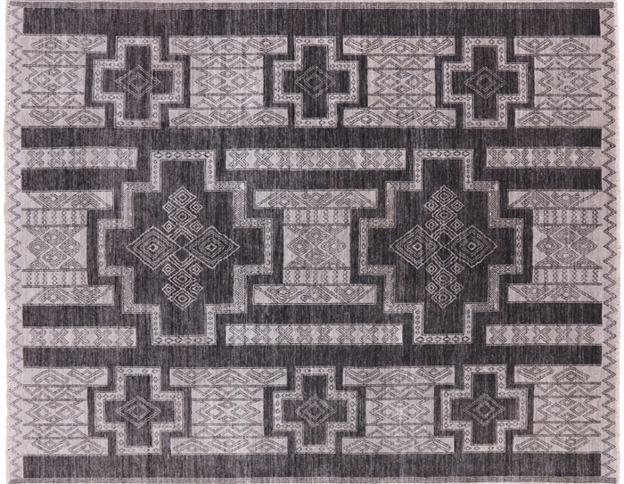 Hand Knotted Southwest Navajo Area Rug