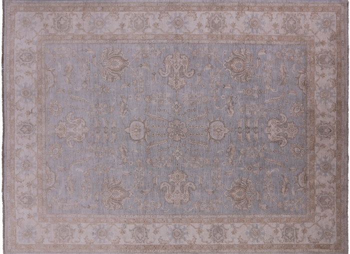 Peshawar Oriental Hand Knotted Wool Area Rug