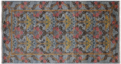 William Morris Hand Knotted Rug