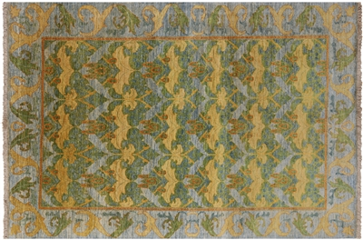 William Morris Hand Knotted Wool Oriental  Rug