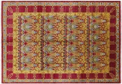 Hand Knotted Wool William Morris Rug