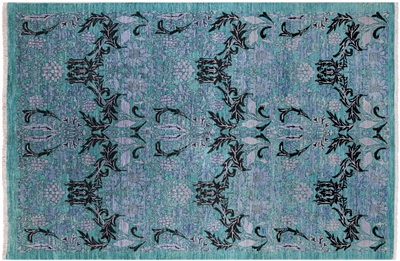 Hand Knotted William Morris Rug