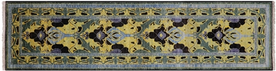 Runner Hand Knotted William Morris Rug