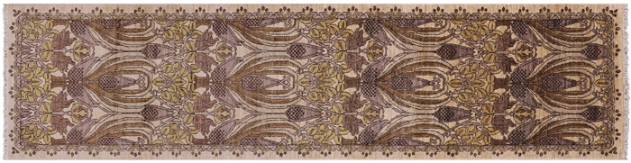 William Morris Oriental Wool Runner Rug
