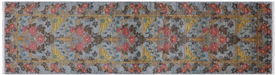 Runner William Morris Hand Knotted Rug