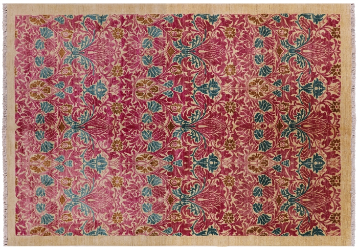 William Morris Hand Knotted Oriental Rug