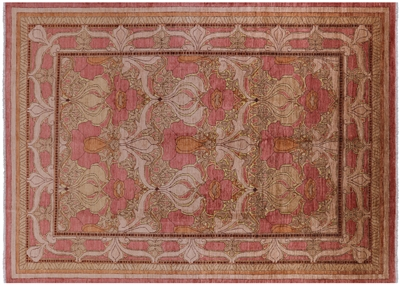 Oriental Hand Knotted William Morris Rug