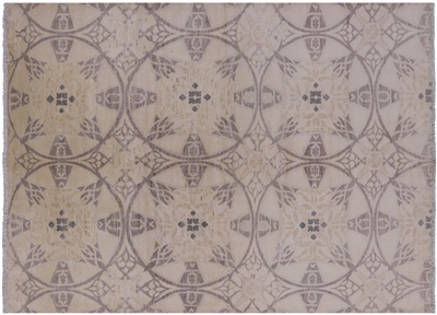 Hand Knotted Wool Arts & Crafts Oriental Area Rug