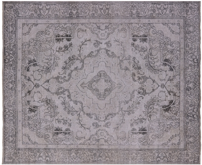 Persian Vintage White Wash Wool Rug