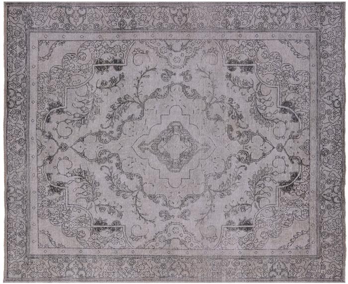 10 X 12 Persian Vintage White Wash Wool Rug