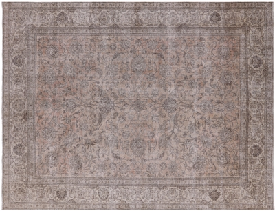 Handmade Wool White Wash Persian Vintage Rug