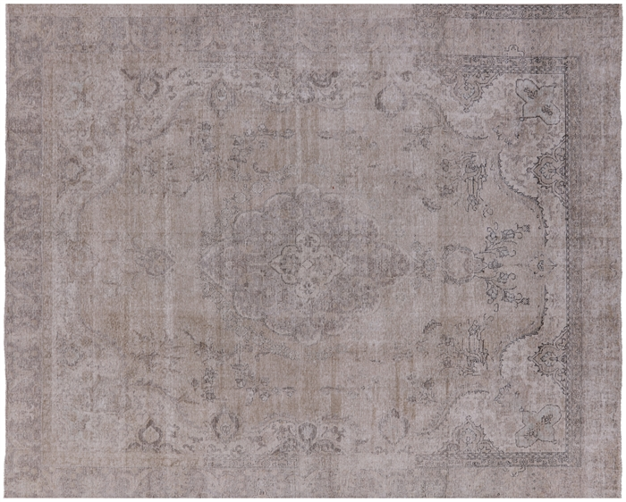 Persian Vintage White Wash Hand Knotted Area Rug