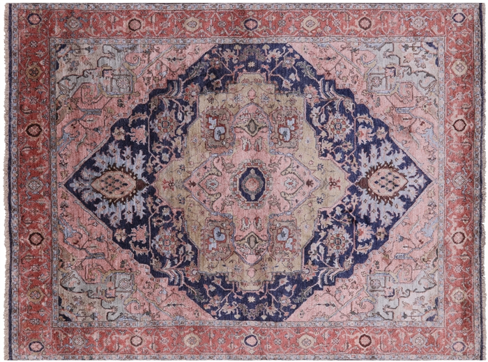 Serapi Hand Knotted 100% Silk Rug