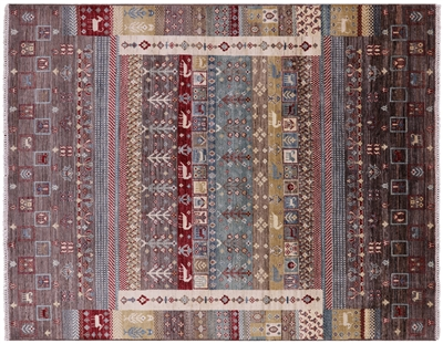 Lori Buft Super Gabbeh Hand Knotted Oriental Wool Area Rug