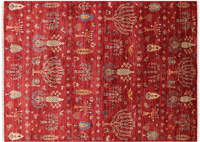 Lori Buft Super Gabbeh Hand Knotted Wool Area Rug