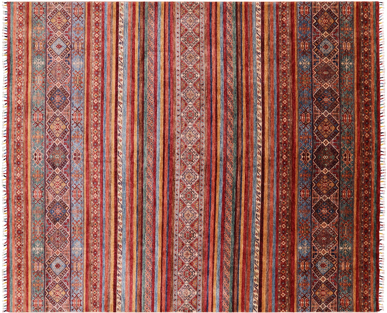 Khorjin Super Kazak Handmade Wool Area Rug 8 X 10
