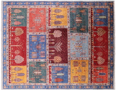 Super Gabbeh Hand Knotted Wool Lori Buft Rug