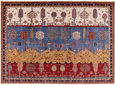 Lori Buft Super Gabbeh Hand Knotted Rug