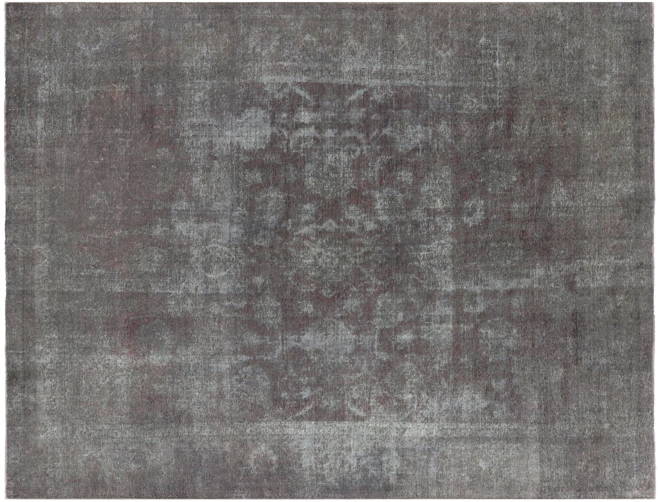 9 7 X 12 Persian Overdyed Area Rug