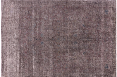 Hand Knotted Wool Persian Overdyed Area Rug