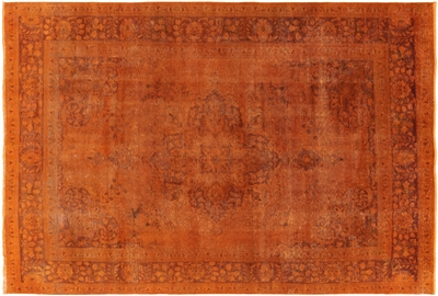 Hand Knotted Persian Overdyed Area Rug