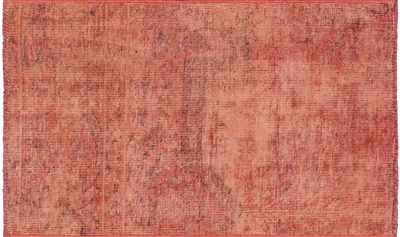 Overdyed Hand Knotted Rug