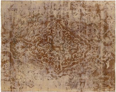 Persian Overdyed Handmade Wool Area Rug