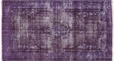 Persian Overdyed Hand Knotted Wool Rug