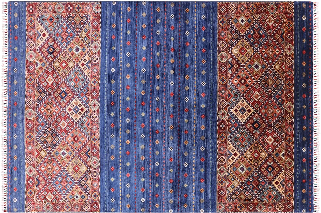 6 8 X 9 Tribal Persian Gabbeh Rug