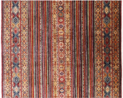 Hand Knotted Persian Gabbeh Rug