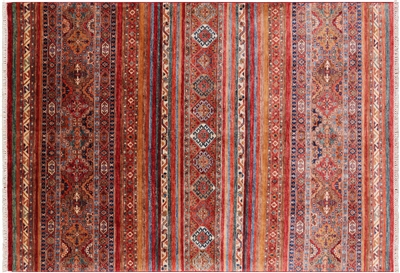 Tribal Persian Gabbeh Handmade Wool Area Rug