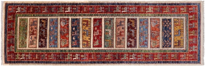 Runner Tribal Persian Gabbeh Rug