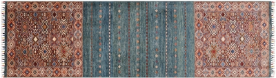 Tribal Persian Gabbeh Wool Rug