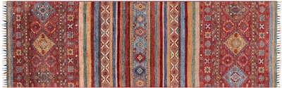 Tribal Persian Gabbeh Handmade Wool Rug