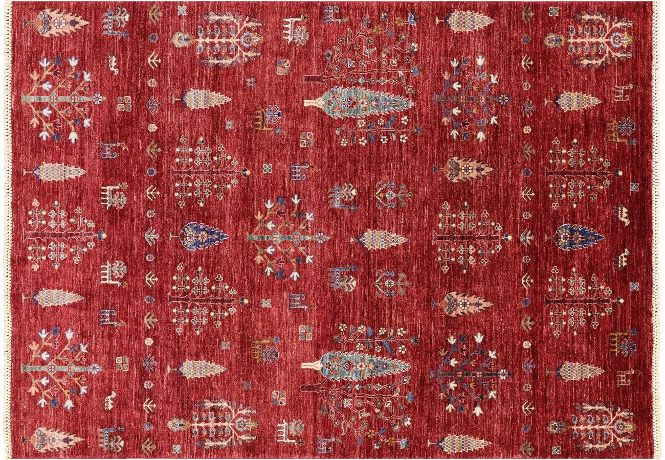 Tribal Hand Knotted Persian Gabbeh Rug