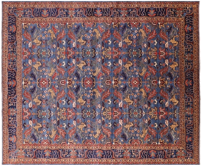 Persian Fine Serapi Hand Knotted Rug