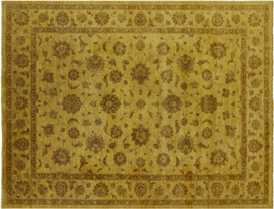 Hand Knotted Full Pile Wool Overdyed Rug