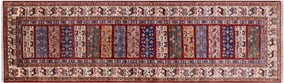 Runner Hand Knotted Wool Tribal Persian Gabbeh Rug