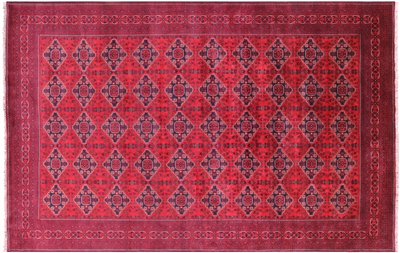 Hand Knotted Tribal Beljik Rug