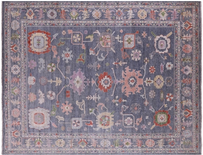 Oushak Wool On Wool Rug