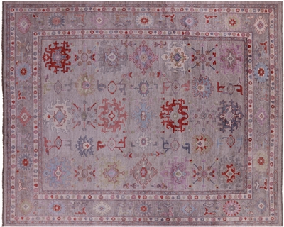 Turkish Oushak Wool On Wool Area Rug