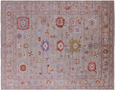 Wool On Wool Turkish Oushak Rug
