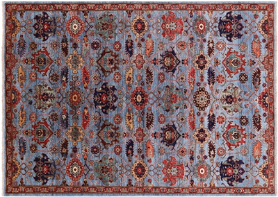 Hand Knotted Persian Fine Serapi Rug