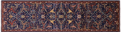 Persian Fine Serapi Hand Knotted Runner Rug