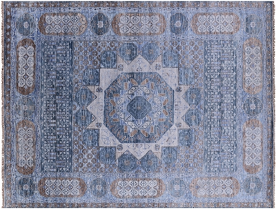 Hand Knotted Mamluk Wool Rug