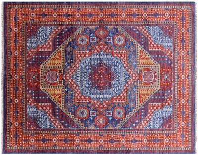 Mamluk Hand Knotted Wool Area Rug